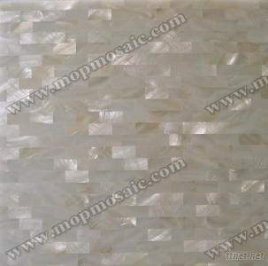 Pure White Mother Of Pearl Shell Wall Decorative Tiles