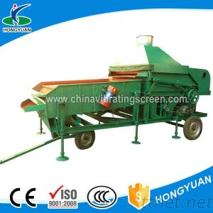Utilize Belt Feeding Agricultural Products Cleaning Machine