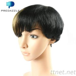 Straight Human Hair Short Wigs New Ombre Golden Bob Wigs 8