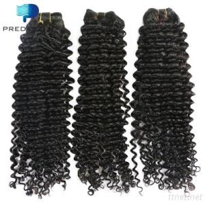 Brazilian Human Hair Deep Curly Virgin Hair Weave