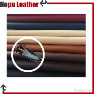 PU Leather Upholstery Printed Leatherette  for Shoe