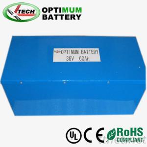 Lithium Rechargeable  Battery Pack 36V60Ah For Ups