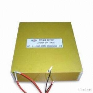 Hot Sale Lithium Recharegeable  Battery 24V100Ah With Suitable BMS And Chareger