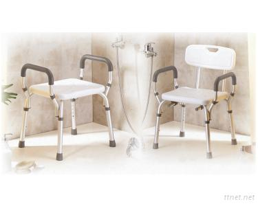 Quick-Released Shower Chair w/(o) Back