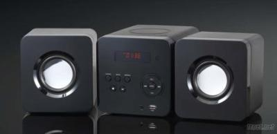 6W/2-Channel/CD Micro Hi-Fi Component System
