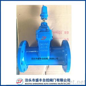 DIN F5 resilient seated  gate valve with high quality