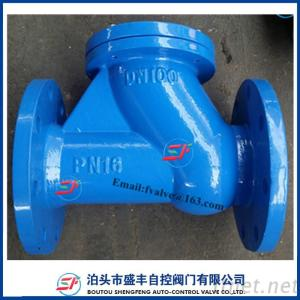 HQ41X Rolling Ball Check Valve With Ductile Iron Material