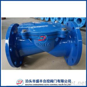 H44X Rubber Disc Check Valve With Ductile Iron Material