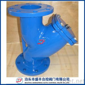 GL41P Y Type Filter Ductile Iron