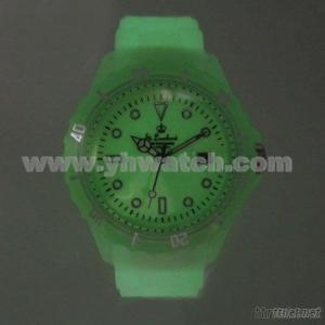 Luminous Silicone Simple Watch