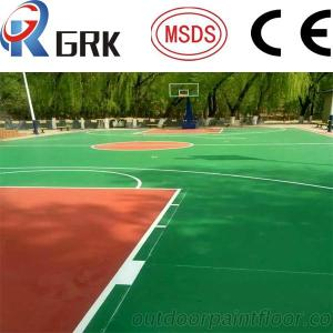 Synthetic All Weather Acrylic Basketball Court Flooring