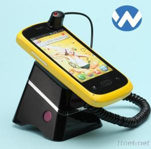 Chargeable Security Alarm Display Stand For Mobile Phones