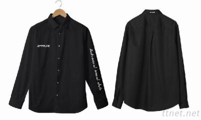Shirt With Embroidery Technology