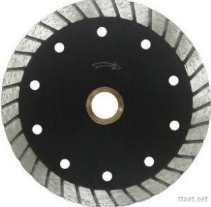 Continuous Wide Tooth Turbo Diamond Blade With Cooling Holes-Economy-4