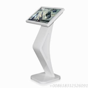22Inch Floor Standing LCD Information Touch Kiosk