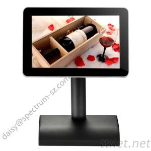 10.1 Inch Table Stand Restaurant Touch Kiosk