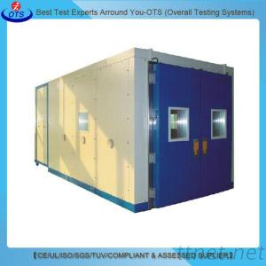 Walk In Temperature Humidity Environmental Test Chamber
