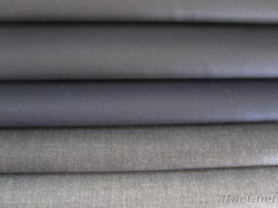 Wool Polyester Worsted Serge Fabric
