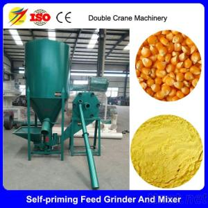 Vertical Poultry Feed Grinder And Mixer