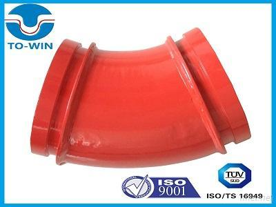 Twin Wall Concrete Pump Elbow For 60000 M3