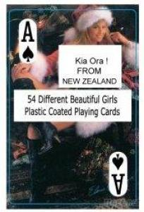 Nude Female Playing Cards - D - New Zealand