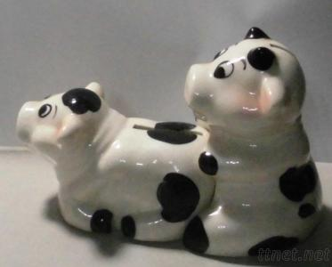Happy Sex Cow Saving Bank Set
