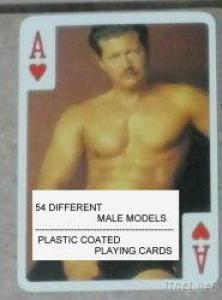 Nude Male Playing Cards-A-Male
