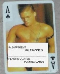 Nude Male Playing Cards-B-Male
