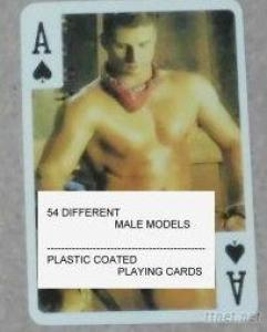 Nude Male Playing Cards-D-Male