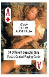 Nude Female Playing Cards - A - Australia