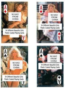 Nude Female Playing Cards - China