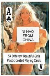 Nude Female Playing Cards - C - China