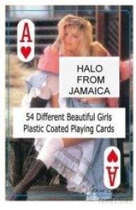 Nude Female Playing Cards - B - Jamaica