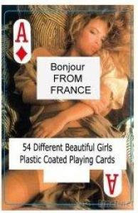 Nude Female Playing Cards-A-FR