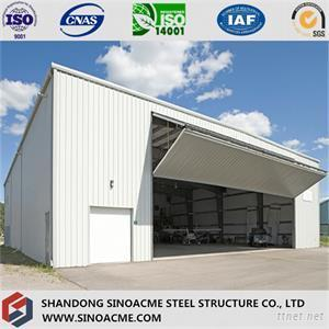 Prefabricated Steel Structure Building For Aircraft Hanger