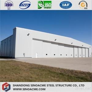 Prefabricated Steel Structure Hanger Building For Aircraft