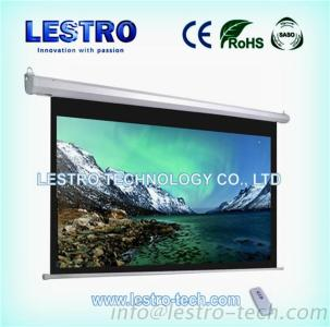 Convenient And Sleek Electric Projection Screen