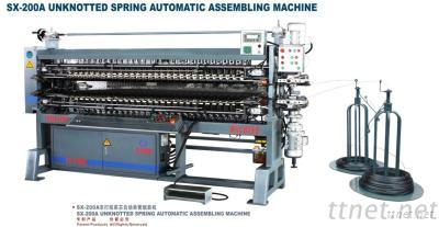 Unknotted Spring Automatic Assembling Machine