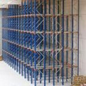 Narrow Deep Pallet Racking