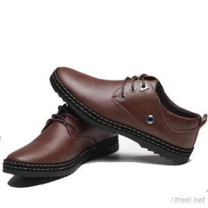 Newly Design Hot Men Casual Shoes, Genuine Leather Outdoor Sport Shoe