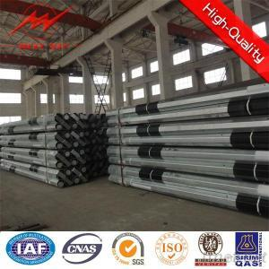 Galvanized Polygonal Power Steel Pole