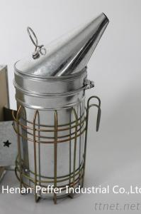 Peffer Leather Bellow Manual European Bee Smoker With Inner Tank
