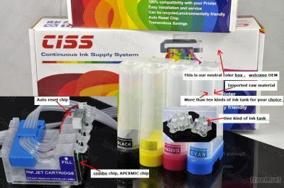 Continuous Ink Systems