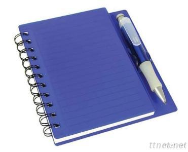 Plastic PP Cover Notebook