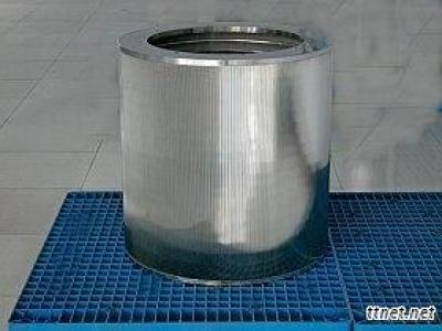 Pressure Screen Basket Or Drum For Paper Making Machine