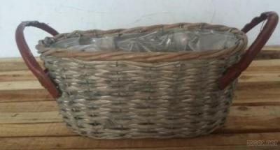 Wicker Baskets For Flower Planting