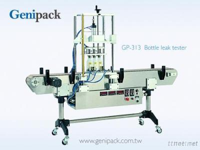Three nozzle bottle leak tester