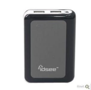 IDSEE High Capactiy External Battery Or Power Bank 8400MAh