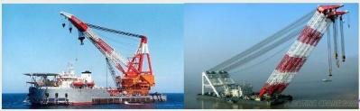 Floating Crane Barge, Hire Rent Charter Sale Buy Crane Vessel