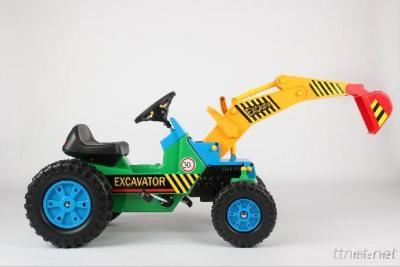 Ride-On Toy Cars Pedal Excavator For Child